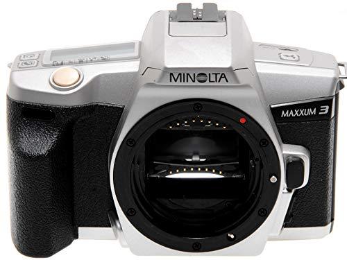 Minolta Maxxum 3 Silver (Dynax 3) Cámara réflex automática analógica A-Mount