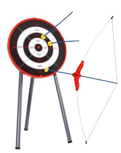 Hudora 78115 - Juego de arco, flechas y diana [Importado de Alemania]