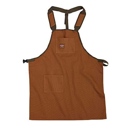 Bucket Boss - Delantal de lona SuperShop (80300), color marrón