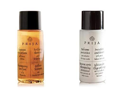 Prija Hotel Toilettenartikel 40 Einheiten Shampoo und Haarspülung