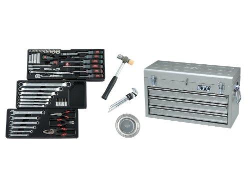 京都機械工具(KTC) 9.5sq.工具セット(チェストケース) SK3650XS