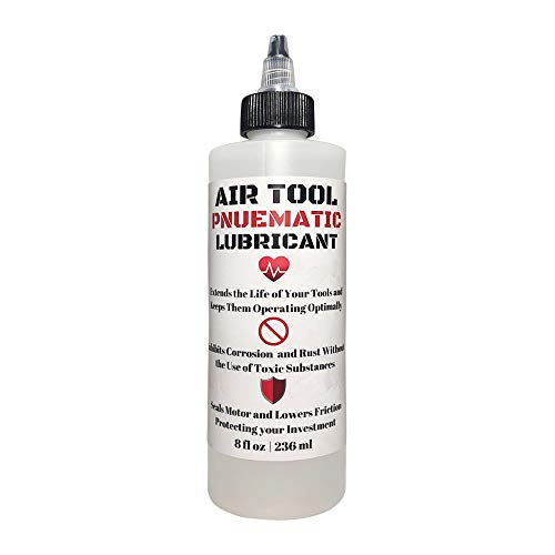 Air Tool Pneumatic Lubricant - 8oz - Translucent Clear