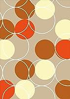 igsticker ポスター ウォールステッカー シール式ステッカー 飾り 1030×1456㎜ B0 写真 フォト 壁 インテリア おしゃれ 剥がせる wall sticker poster 008200 チェック・ボーダー 水玉 赤 レッド 茶色 ブラウン 模様