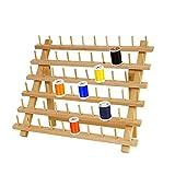 Soporte de carrete de algodón, soporte de 60 bobinas de carrete,organizador de hilo de 30x40 cm,...