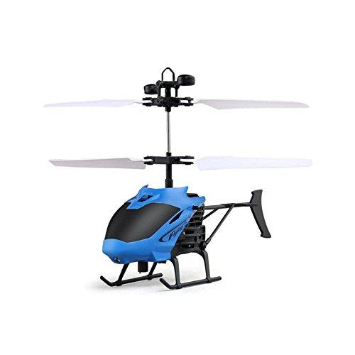 wildlead D715Mini Helicóptero Inducción Avión mando a distancia RC Drone con flash luz, Stil 1