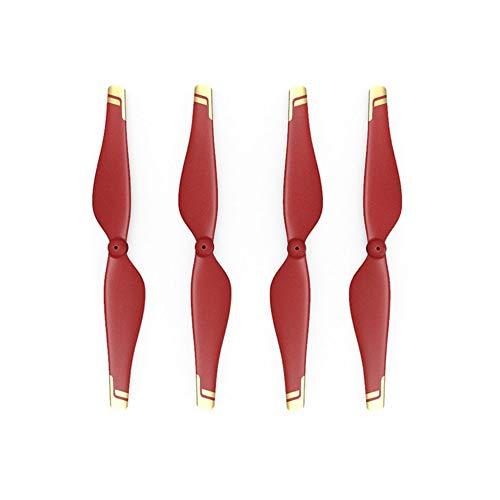 DJI Tello Iron Man Edition Quick-Release Propellers - Coppia di 2x Eliche Compatibili con il Mini Drone DJI Tello Iron Man Edition - Rosso