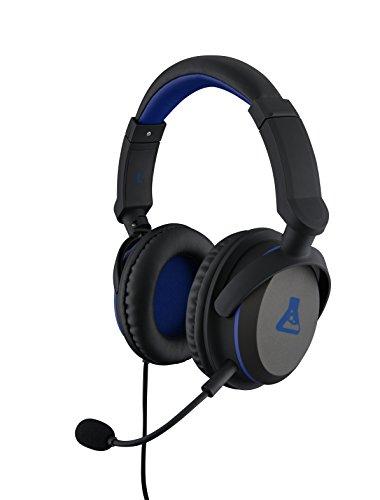 The G-Lab - KORP-OXYGEN - Casque Gaming Performance - Micro détachable - Comptatible PS4, PC, Nitendo Switch & Xbox - Confort - Noir
