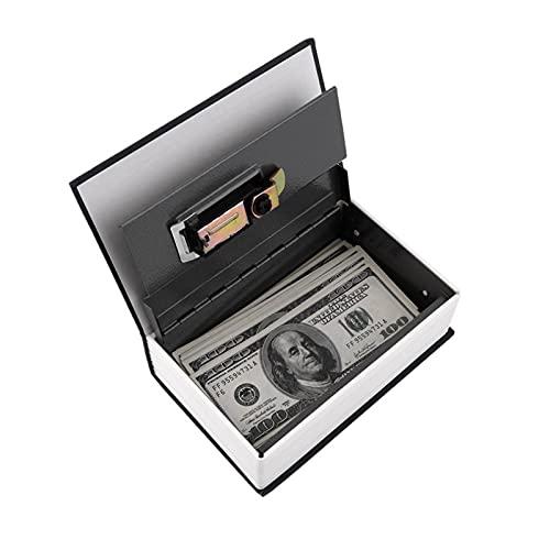Diccionario Caja de Seguridad Popular Secreto Libro Dinero Oculto Secreto Seguridad Seguridad Cerradura Efectivo Dinero Moneda Almacenamiento joyería contraseña casiller