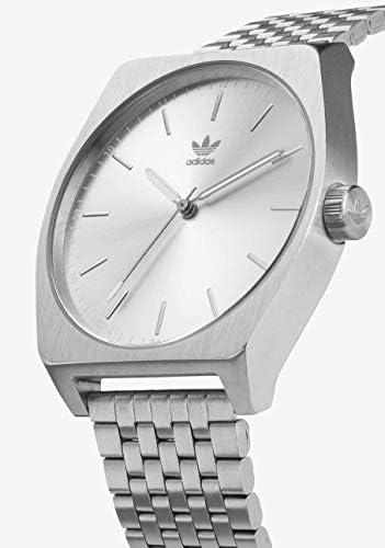 adidas Originals Watches Process_M1. 6 Link Stainless Steel Bracelet 20mm Width (38 mm) WeeklyReviewer