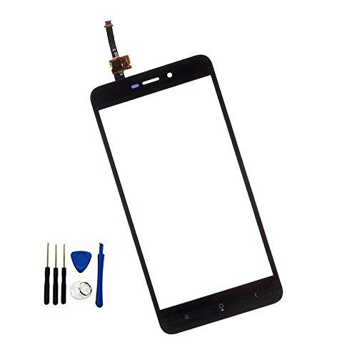 SOMEFUN Pantalla Táctil Touchscreen Digitalizador Reemplazo Vidrio Frontal Completa Panel Táctil para Xiaomi Redmi 4X (No Incluye LCD) Negro