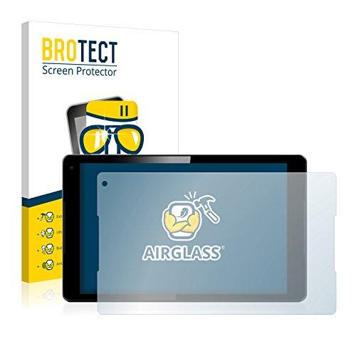BROTECT Panzerglas Schutzfolie kompatibel mit Vodafone Tab Prime 7 - AirGlass, 9H Härte, Anti-Fingerprint, HD-Clear