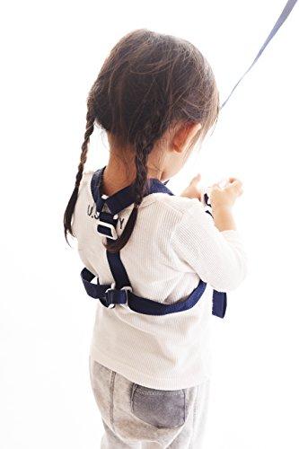 Baby Buddy(ベビバディー) ベビーバディ Deluxe Security Harness 3WAY デラックス迷子防止ハーネス Navy ネイビー