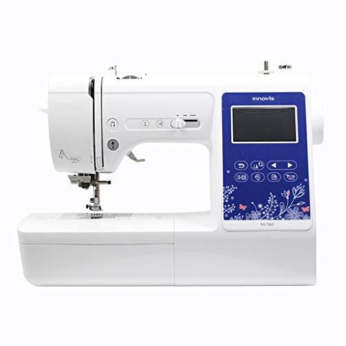 WangQ Máquina de Coser, hogar de la máquina automática de Coser, Bordar máquina, Bordado multifunción de Escritorio Vendo Máquina Maquina de Coser Singer (Size : 42x30x19cm)
