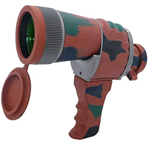 Binoculares Monoculares 10 * 50HD Monocular de Alta Resolución con Visión Nocturna Impermeable para Escalada Observación de Aves Concierto Juego de fútbol Telescopio Monocular