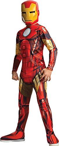Rubies Disfraz oficial del Iron Man, talla