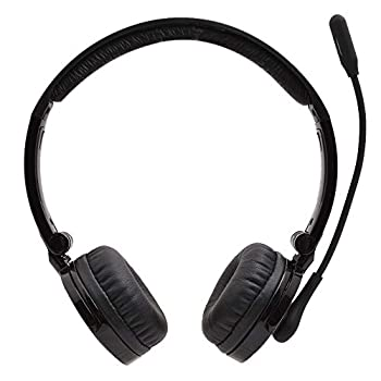 Bluetooth Headphones with Microphone YAMAY Bluetooth Headset Wireless Headphones on Ear with Noise Cancelling Boom Mic Mute Key Clear Sound Foldable Headset for Cell Phones PC Tablet Home Office