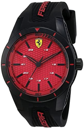 Scuderia Ferrari Analog Red Dial Men's Watch - 0830248