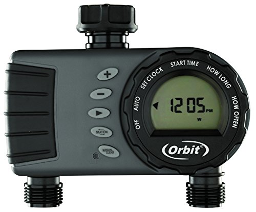 Orbit 96782 'Buddy II HF' Two-Port Digital Tap Timer