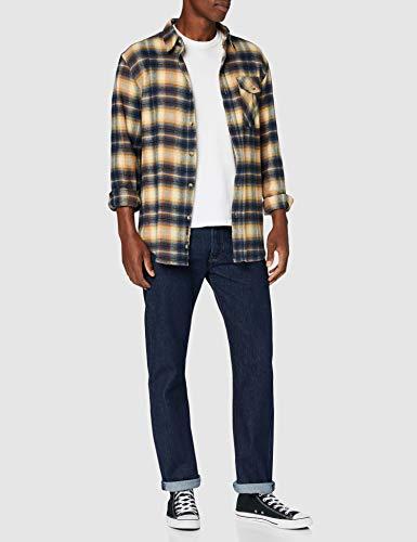 Levi's Men's 501 Original Fit Jeans, Blue (Blau), W34/L30 (Manufacturer size: 34W/30L)
