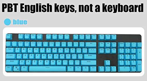 Inglés / PBT Languag KeyCaps opciones de color rusos Variedad de cereza MX teclado mecánico de teclas puede activar Cap 104 Keyscaps,bule
