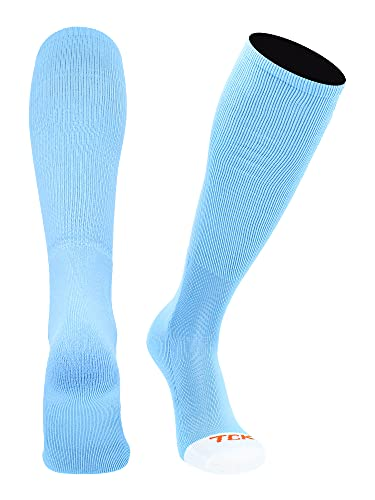 TCK Prosport Performance Tube Socks (Columbia Blue, Large)