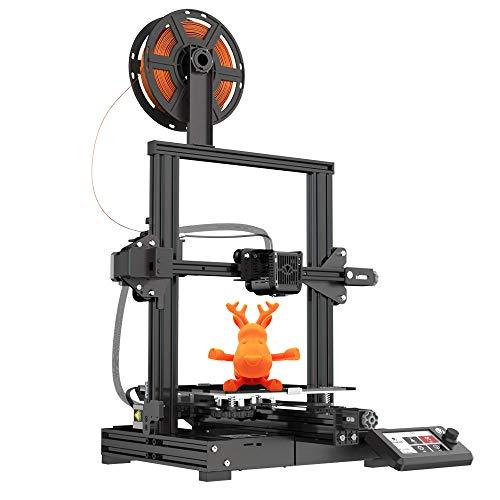 Voxelab Impresora 3D Aquila con placa de superficie extraíble, fuente totalmente abierta y función de impresión de reanudación Volumen de construcción 220 x 220 x 250 mm