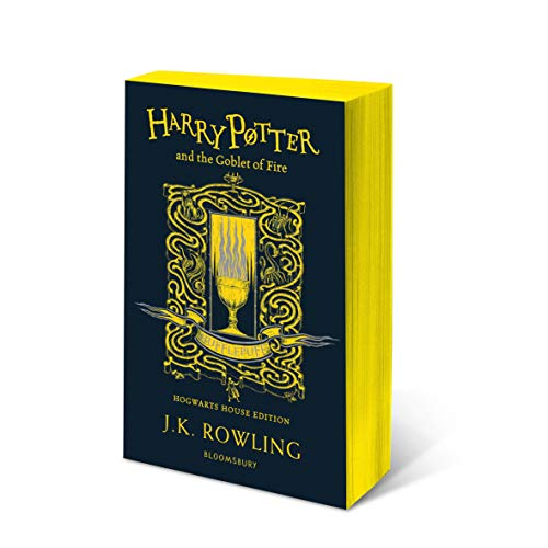 Harry Potter And The Goblet Of Fire - Hufflepuff Edition: J.K. Rowling (Hufflepuff Edition - Yellow)