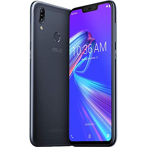 ASUS ZenFone Max (M2) 64GB 4GB RAM ZB633KL Dual SIM (GSM Only, No CDMA) Factory Unlocked - 4G LTE International Model No Warranty (Black)