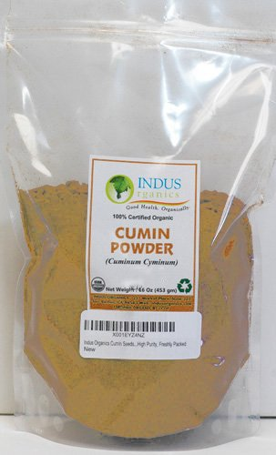 Indus Organics Cumin Seeds Mesa Mall lowest price Powder 1 Grade High Premium Bag Lb