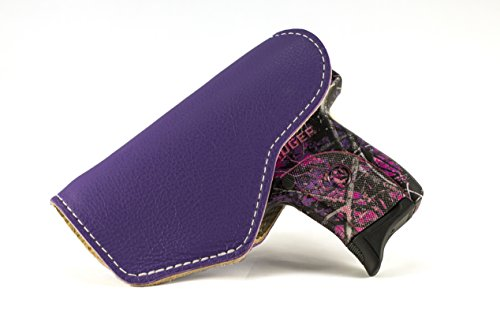 JM4 Tactical Magnetic Holster Purple Right Hand Medium | Great for Ruger LC9 | Beretta Nano | Walther P22 & More!