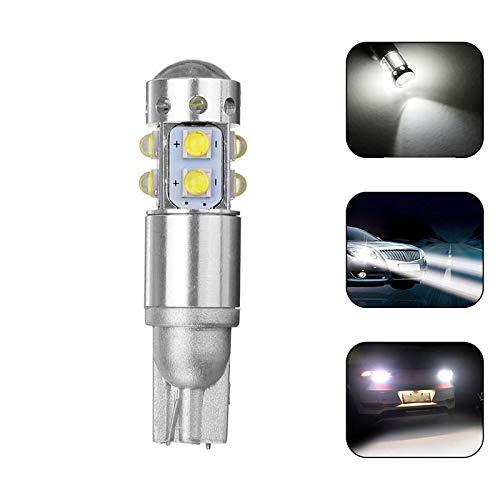 T10 LED CUCHE CUCHE WEDGE SIDE LED LIGHT BOMBILLO 6500K 20W 900LM Hudson Studio