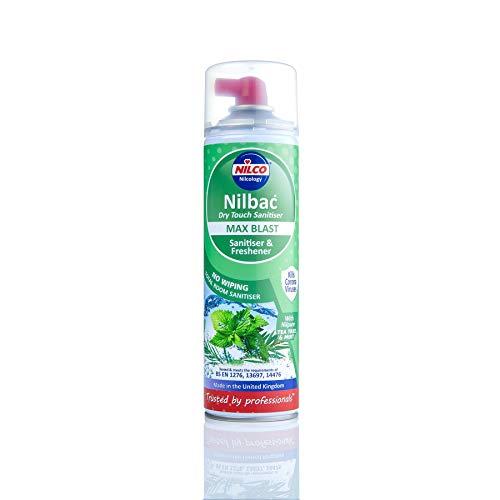 Nilco Nilbac Max Blast Dry Touch Sanitiser 500ml - Tea Tree & Mint