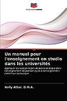 Un manuel pour l'enseignement en studio dans les universités