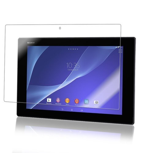 Xperia Tablet Z/Xperia Tablet Z2 フィルム PET 保護フィルム カバー エクスペリア タブレット 液晶 耐衝撃 クリア
