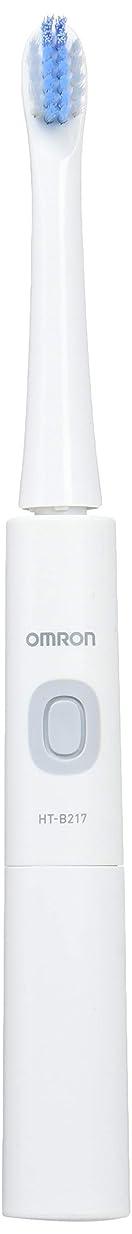 春雰囲気海オムロン 音波式電動歯ブラシ HT-B217-W HT-B217-W