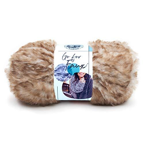 Lion Brand Yarn Go for Faux yarn, POMERANIAN