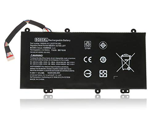 SG03XL Replacement Laptop Battery for HP Envy M7 17-U000 17t-U000 17t-U100 M7-U000 Series M7-U109DX...