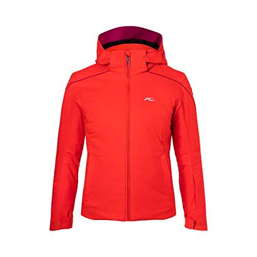 KJUS Girls Formula Jacket Rot, Kinder Jacke, Größe 152 - Farbe Fiery Red