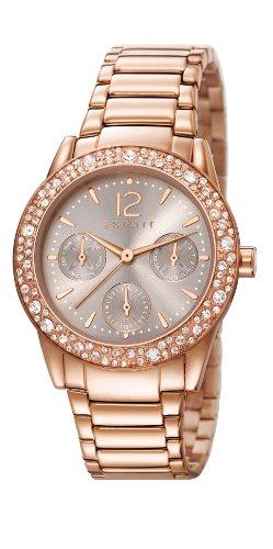 Esprit Damen-Armbanduhr XS Analog Quarz Edelstahl beschichtet ES107152002