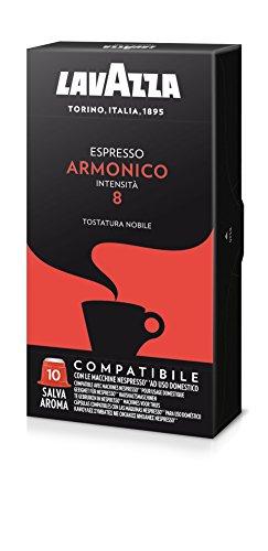 Lavazza Cápsulas de café Armonico - Paquete de 5 x 10 cáp