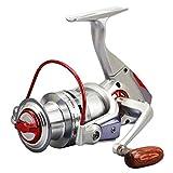 3 PCS FG Pesca Carrete LED Alarma Inteligente eléctrico automático Alerta Carpa Carrete 5.0:1 8 + 1BB Spinning Reel carretes de Pesca de la Carpa,6000model