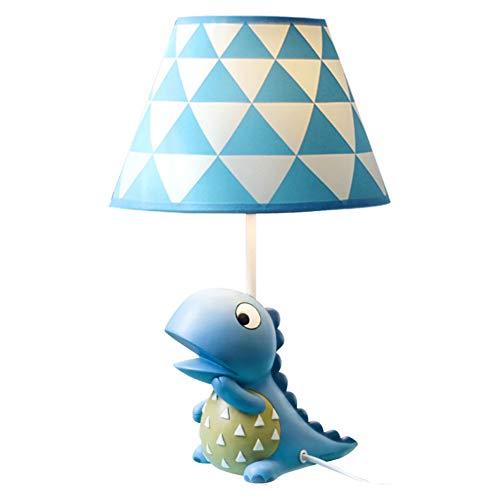Fikujap - Lámpara de mesa con diseño de dinosaurio, diseño de dinosaurio, para dormitorio, habitación de niños, pequeña