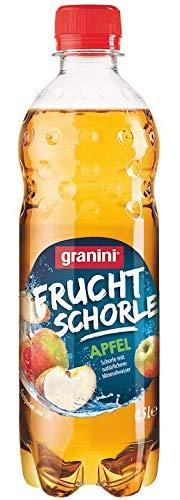 granini Frucht Schorle Apfel EINWEG, (18x 500 ml)