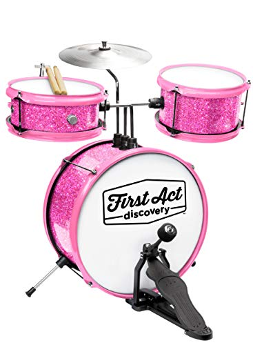 of lee drum sets dec 2021 theres one clear winner First Act Discovery Drum Set & Seat, Pink Sparkle