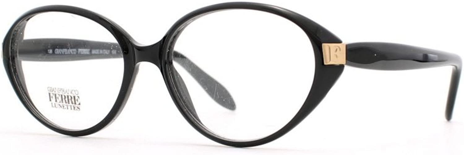 Gianfranco Ferre 439 807 Black Authentic Women Vintage Eyeglasses Frame