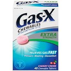 GAS-X TABS X-STR CHERRY Size: 48