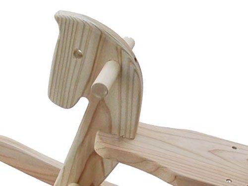 木遊舎『スギ木馬(組立式)』