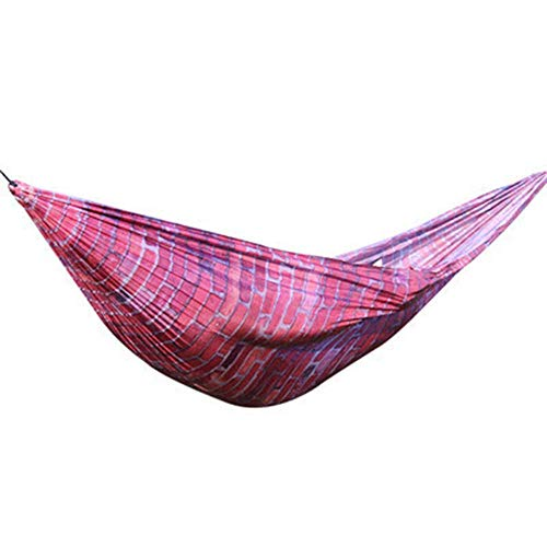 WYJW Hangmat Unquie Parachutetent Camping Tuin als weergave riemen wit