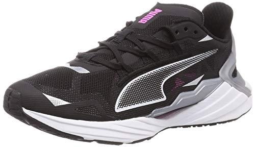 PUMA Ultraride Wn's, Zapatillas para Correr de Carretera Mujer, Negro Black/Metallic Silver, 36 EU