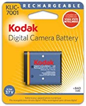 OEM Kodak KLIC-7001 Original Battery for M1063, M1073 IS, M340, M341, M753, M763, M853, M863, M893 IS, V550, V570, V610 and V705 Cameras (Retail Package)